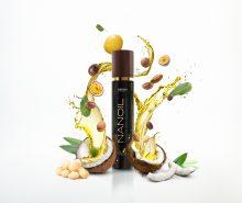 Cheveux sains grâce à l'huile capillaire Nanoil